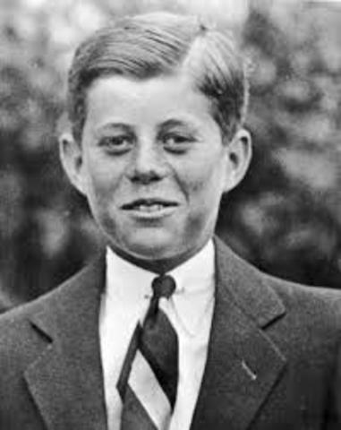 John Fitzgerald Kennedy is born