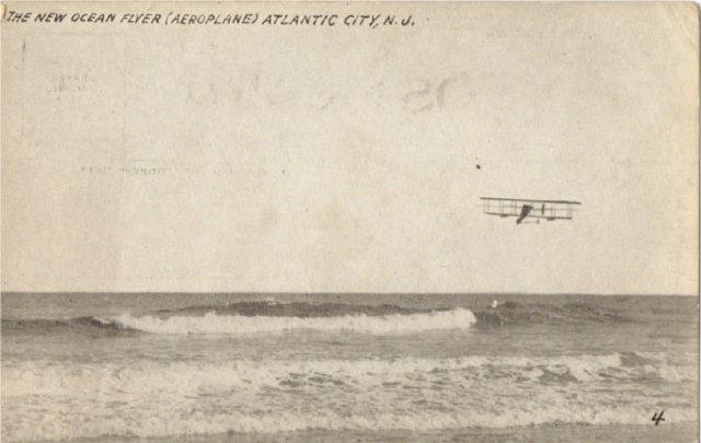 Spectators Watch as Curtiss' Aircraft is Assembled