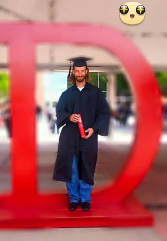 Mys hsuband's Graduation