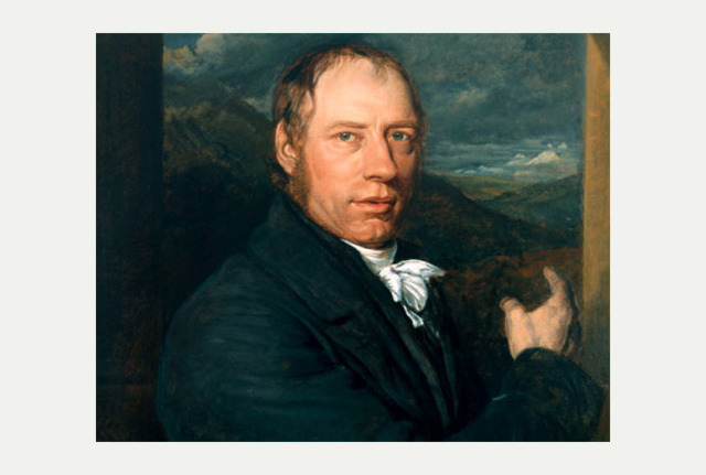 English engineer Richard Trevithick wins bet by hauling ten tons of iron over almost ten miles of track in steam-driven locomotive