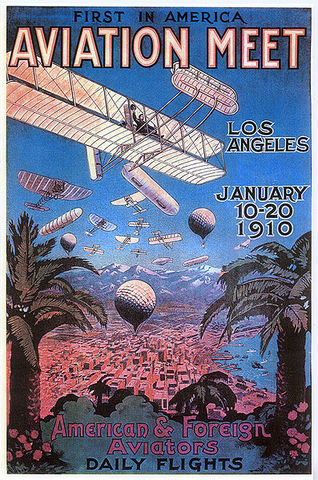 January 10 - January 20: United States' First Airshow - Los Angeles, California