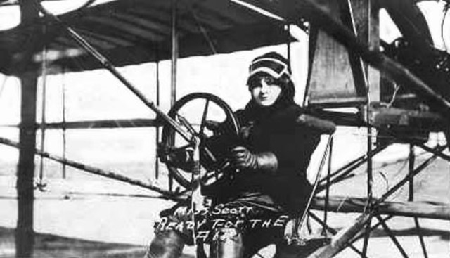Blanche Stuart Scott - First Woman to Fly Solo
