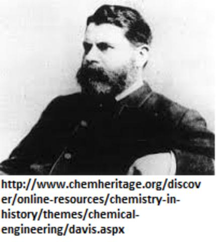 Pionero en la Ingenieria Quimica