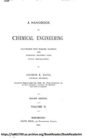 Segunda Edicion del Manual de Ingenieria Quimica
