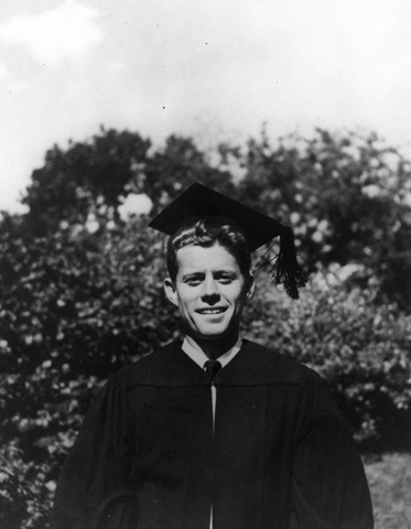 JFK Graduates Harvard
