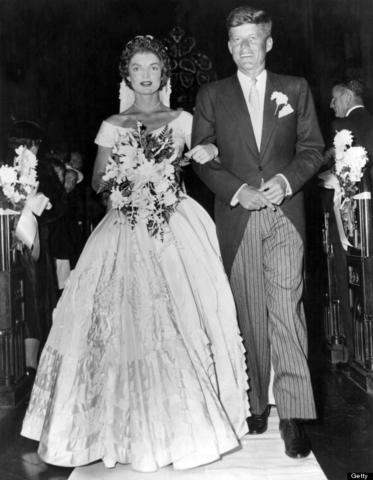 JFK Gets Married