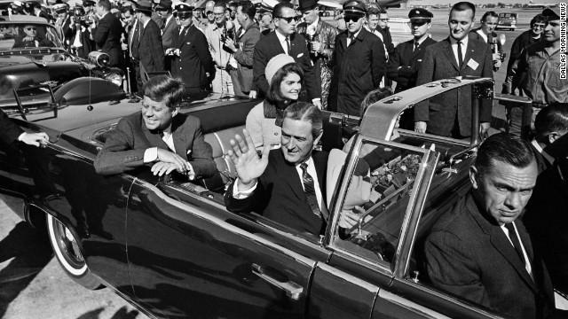 JFK is assassinated