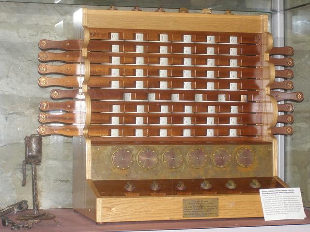 Reloj Calculante Wilhelm Schickard