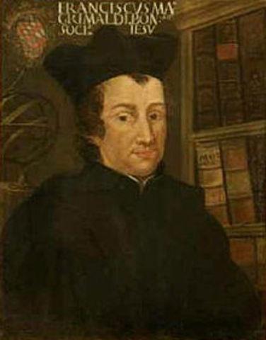 Difracción: Francisco María Grimaldi