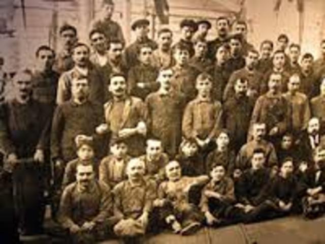 Primera Asociación de Obreros 1866