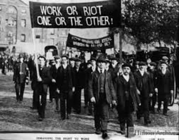 Huelga en Belgica 1867
