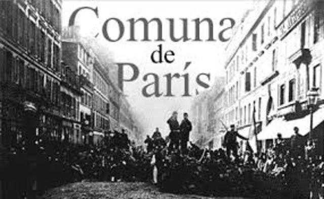 La comuna de Paris de 1871