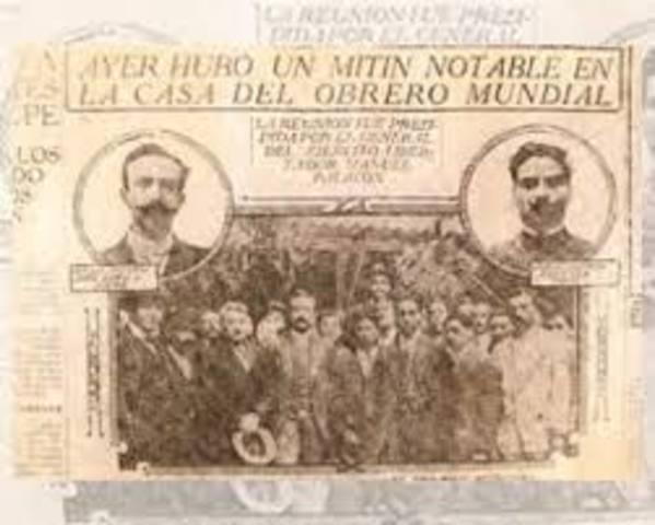 Departamento del Trabajo 1912