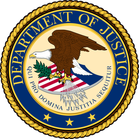 U.S justice DEP. sues