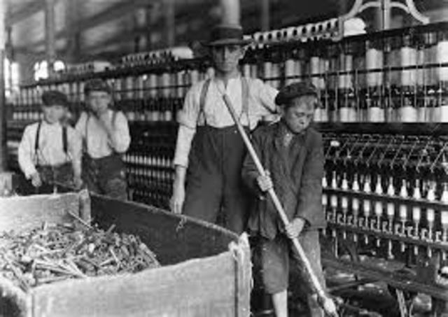 William Cooper testfies about labor conditions from child labor during the industrial revolution