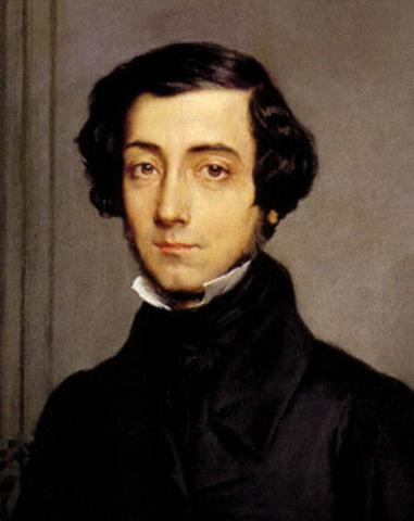 French writer Alexis de Tocqueville visits Manchester