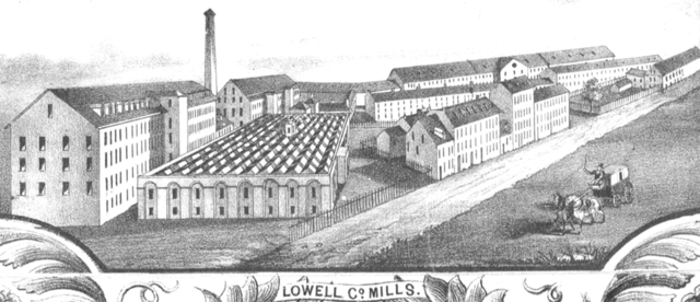Lowell, Massachusetts has become a popular manufacturing centre and a model for other similar towns