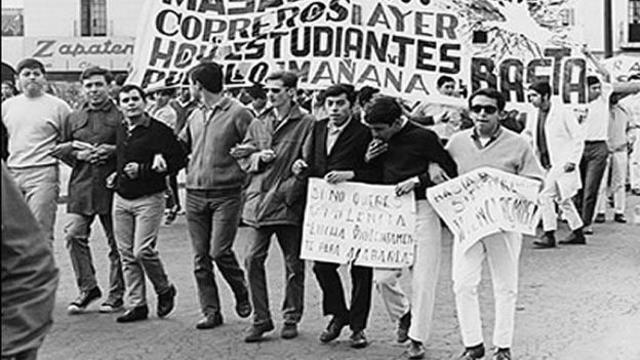 Movimientos estudiantiles del 68