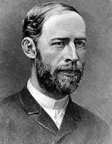 Ondas electromagnéticas de longitud larga: Heinrich Rudolf Hertz