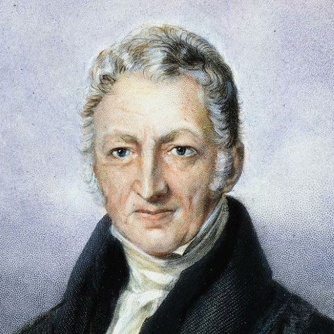 """Thomas Malthus publishes """"An Essay on the Principle of Population"""""""