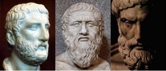 Primera teoría granular de la luz: Demócrito y Platón