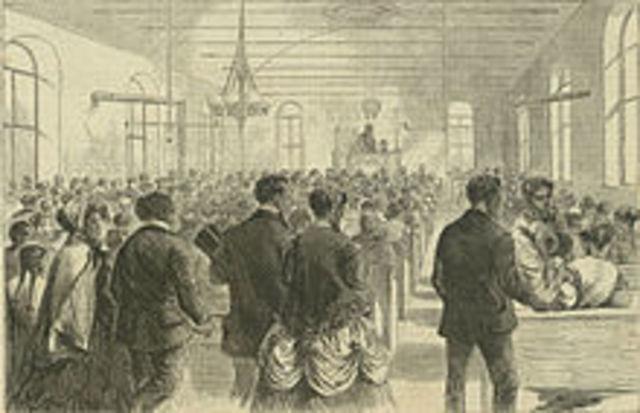 the British government unhappily tolerates labor unions