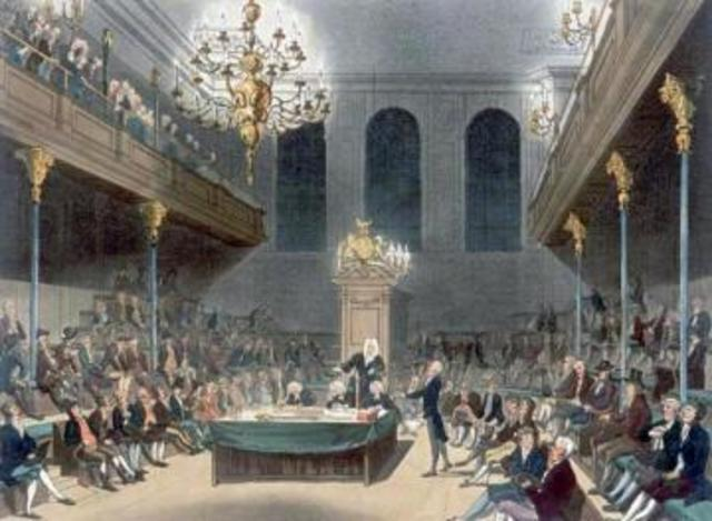 Parliament passes a bill to end slave trade in the British West Indies