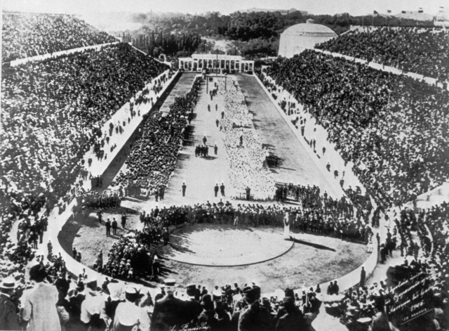 the first olympics are held in Athens, Greece