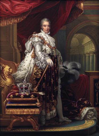 HISTOIRE: Mort de Louis XVIII et courronnement de Charles X