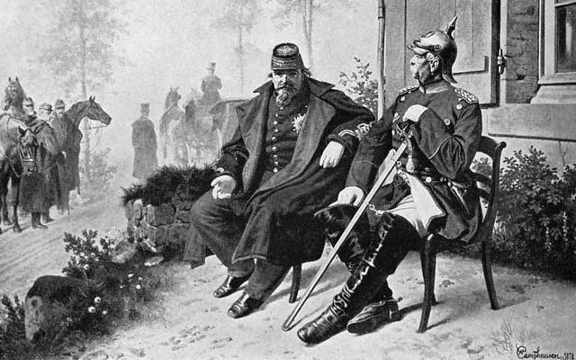 HISTOIRE: Capture Napoléon III, Troisième République