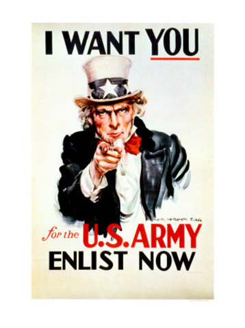 Army poster's