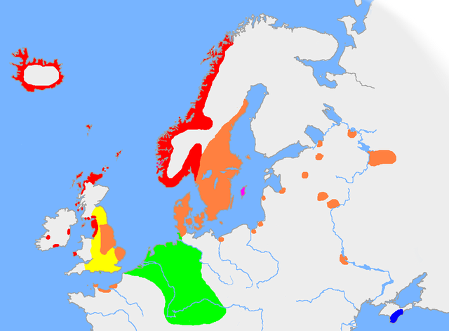Old English Extent