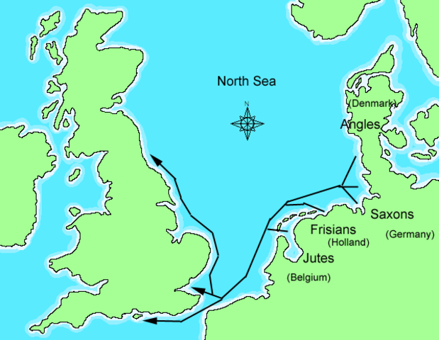 Anglo-Saxon Conquest of England