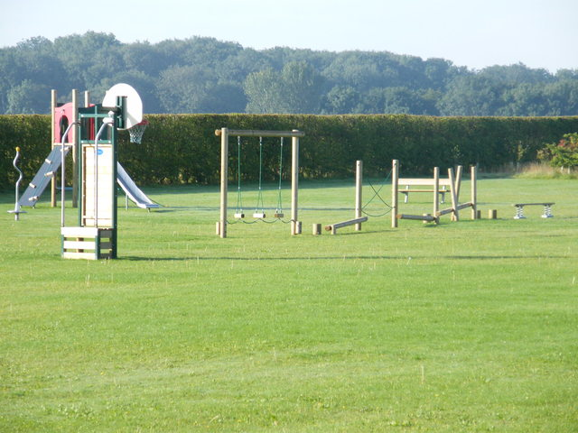 Play Equipment on the Rec Ground