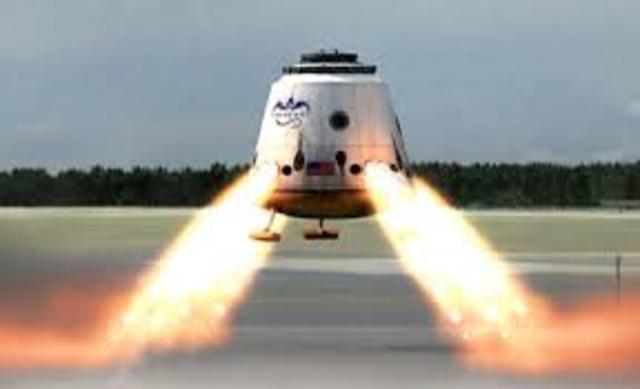 First reusable crewed spacecraft