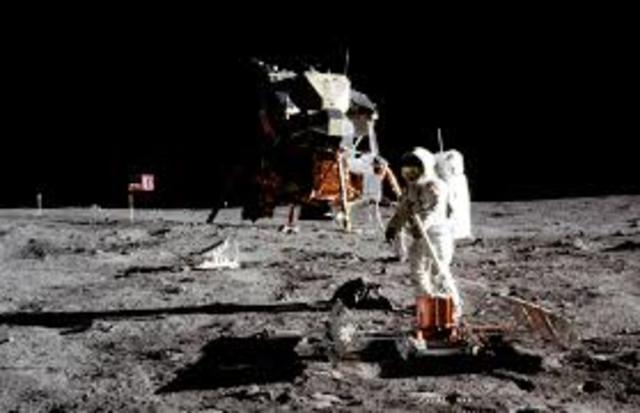 First soft landing on another world the Moon