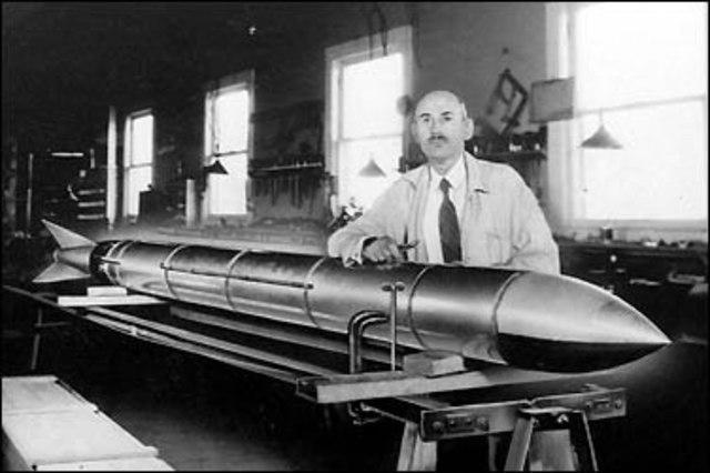 Запуск ракеты Годдарта