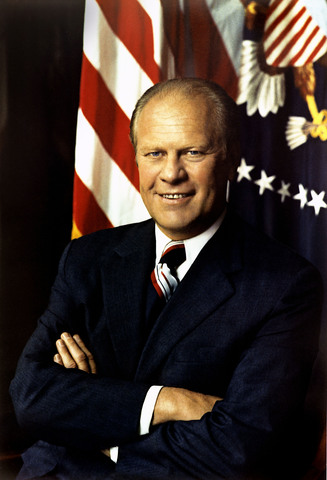 Gerald Ford - elected as president