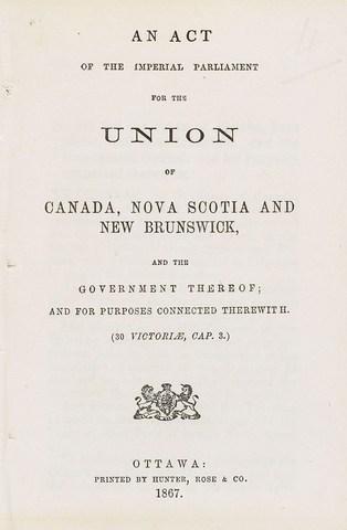 POSITIVE   British North America Act