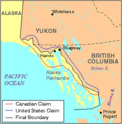 NEGATIVE   Alaskan Panhandle Dispute