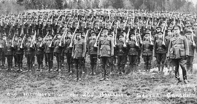 POSITIVE   Canadian Expeditionary Force (CEF)