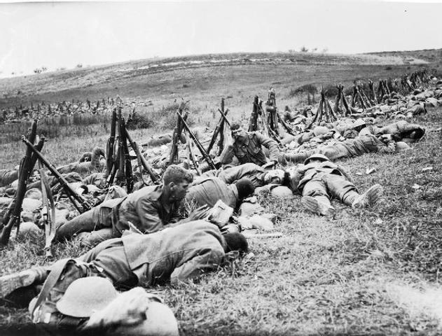 POSITIVE   The Battle of the Somme
