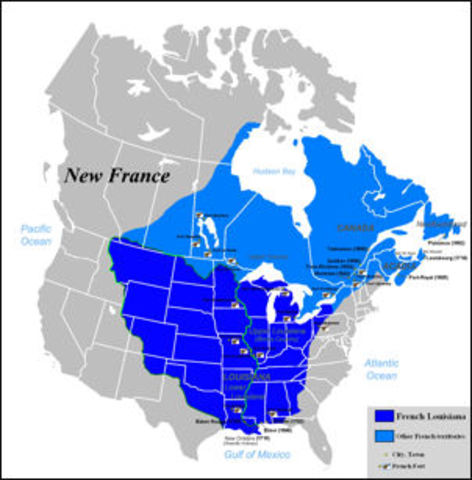 New France becomes Quebec