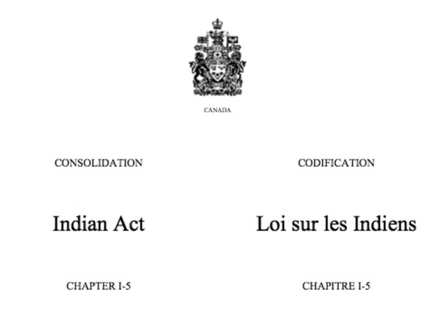 NEGATIVE   Indian Act