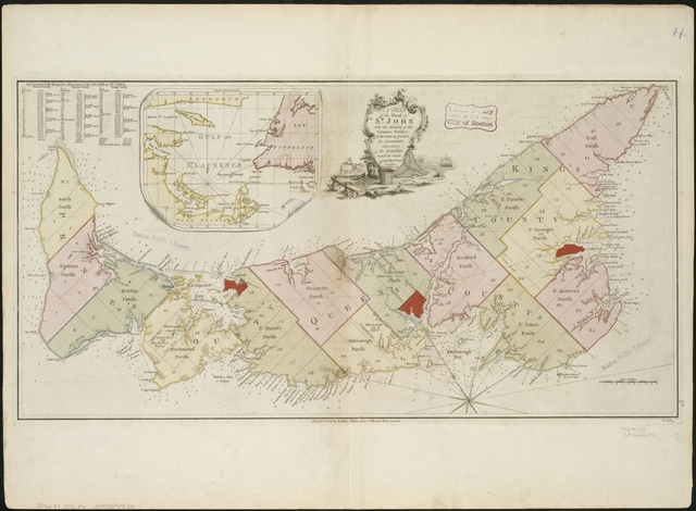 PEI becomes seperate british colony