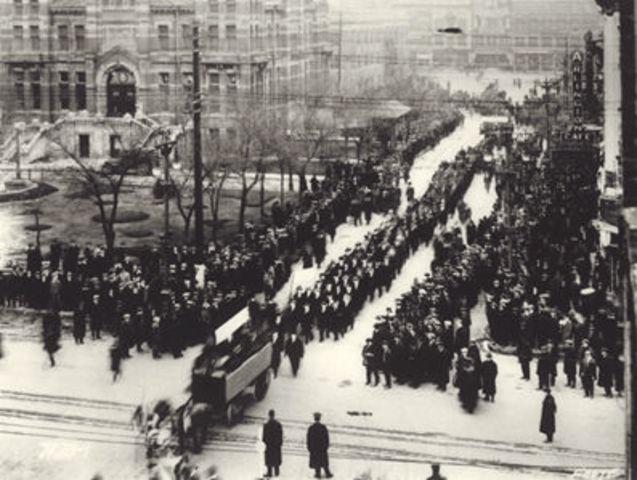 NEGATIVE   Winnipeg General Strike