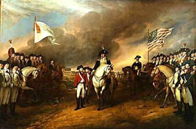 American Revolutionary War ends