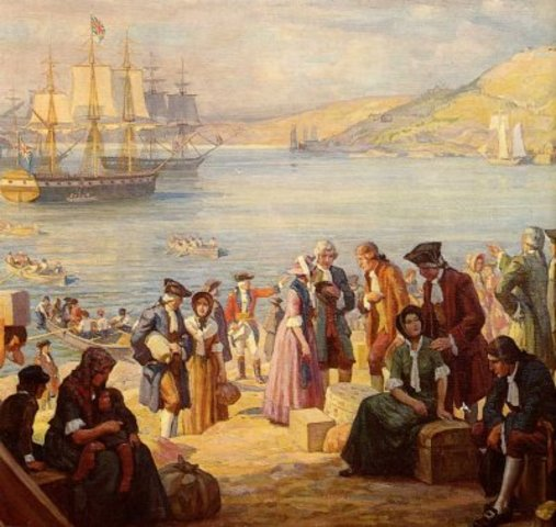 40 000 United Empire Loyalists immigrate to Canada
