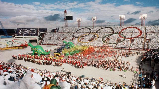 The Calgary Winter Olympics