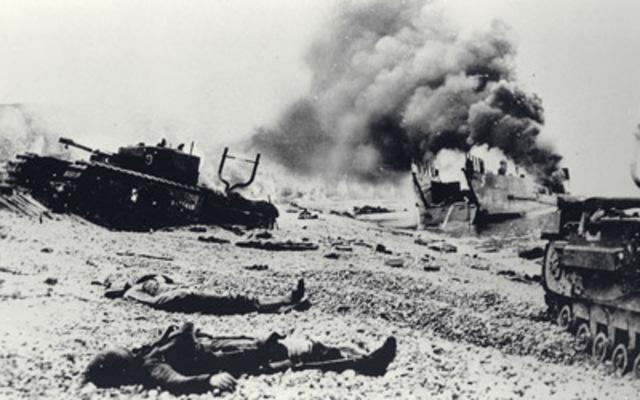 NEGATIVE   The Dieppe Raid